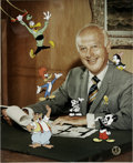 "Animation Art:Limited Edition Cel, ""Meet My Boss, Walter Lantz"" Limited Edition Hand-Painted Cel#17/200 Original Art, Signed by Walter Lantz (Walter Lantz Produ..."