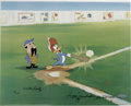 "Animation Art:Limited Edition Cel, ""Woody Gets a Hit"" Special Limited Edition Hand Painted Cel #7/25Original Art, Signed by Walter Lantz (Walter Lantz Productio...(Total: 3 Items)"