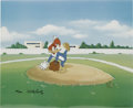 "Animation Art:Limited Edition Cel, ""Wind Up"" Limited Edition Hand Painted Cel #133/200 Original Art,Signed by Walter Lantz (Walter Lantz Productions, 1992). R...(Total: 2 Items)"