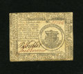 Colonial Notes:Continental Congress Issues, Continental Currency November 29, 1775 $1 About New. A singlecenter fold is found on this crisp and boldly signed Continent...
