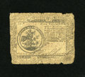 Colonial Notes:Continental Congress Issues, Continental Currency May 9, 1776 $5 Very Good. For the amount ofwear the design and signatures have remained strong in spit...