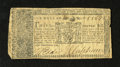 Colonial Notes:Maryland, Maryland April 10, 1774 $1 Fine. Numerous pinholes are noticedalong with some roughness on the right side. Very scarce as m...