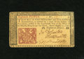 Colonial Notes:New Jersey, New Jersey March 25, 1776 18d Choice New. Bold embossing is well punched through and the margins are even on this later date...