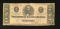 Confederate Notes:1863 Issues, T62 $1 1863. Many smaller denominations circulated extensively inthe Confederacy. Very Good....