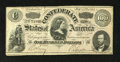 Confederate Notes:1864 Issues, T65 $100 1864. This is a fully framed example that exhibits light handling. Very Fine....