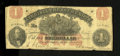 Obsoletes By State:Virginia, Richmond, VA- Virginia Treasury Note $1 July 21, 1862. Confederate printer Hoyer & Ludwig printed this note for the State of...