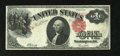 Error Notes:Large Size Errors, Inverted Third Printing Fr. 38 $1 1917 Mule Legal Tender Fine-Very Fine.. This exciting inverted serial number note carries ...