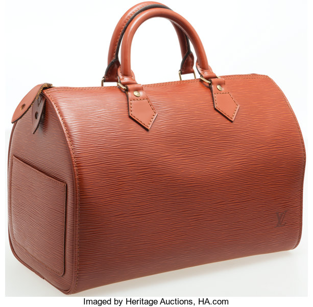 25e960874e Luxury Accessories:Bags, Louis Vuitton Fawn Epi Leather Speedy 30 Bag.