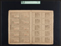 Colonial Notes:Pennsylvania, Pennsylvania April 10, 1777 Double Sheet of 20 1s, 18d, 2s, 3s, 4s,6s, 8s, 12s, 16s and 20s PCGS Choice About New 55.. ...