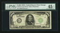 Small Size:Federal Reserve Notes, Fr. 2212-G $1000 1934A Federal Reserve Note. PMG Choice Extremely Fine 45 EPQ.. ...