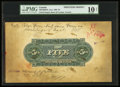 Canadian Currency: , Toronto, ON- United Empire Bank of Canada $5 Ca. 1906 Ch #760-10-02PM Printer's Model. ...
