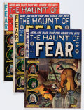 Golden Age (1938-1955):Horror, Haunt of Fear Group (EC, 1952-54) Condition: Average VG+....(Total: 9 Comic Books)