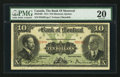Canadian Currency: , Montreal, PQ - The Bank of Montreal $10 Nov. 3, 1914 Ch. #505-54-06. ...