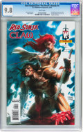Modern Age (1980-Present):Superhero, Red Sonja/Claw: The Devil's Hands #4 (DC/Wildstorm-Dynamite, 2006) CGC NM/MT 9.8 White pages....