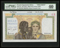 World Currency: , French Equatorial Africa Afrique Francaise Libre 1000 Francs ND (1941) Pick 9s Specimen. ...