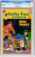 Silver Age (1956-1969):Miscellaneous, Tastee-Freez Comics #6 Dick Tracy - File Copy (Harvey, 1957) CGCVF/NM 9.0 Off-white to white pages....