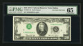 Error Notes:Inverted Third Printings, Fr. 2071-K $20 1974 Federal Reserve Note. PMG Gem Uncirculated 65.....