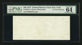 Error Notes:Blank Reverse (100%), Fr. 2072-B $20 1977 Federal Reserve Note. PMG Choice Uncirculated 64. . ...
