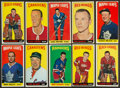 Hockey Cards:Lots, 1964/65 Topps Hockey Collection (34). ...