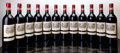 Red Bordeaux, Chateau Lafite Rothschild 1986 . Pauillac. 1nc, 2lcc, 9tissue-stained capsules, owc. Bottle (12). ... (Total: 12 Btls. )