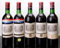 Red Bordeaux, Chateau Lafite Rothschild 1966 . Pauillac. 2bn, 1vhs, 1nl,3lscl. Bottle (5). ... (Total: 5 Btls. )