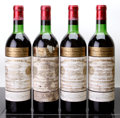 Red Bordeaux, Chateau Cheval Blanc 1967 . St. Emilion. 2vhs, 2hs, 4hwasl,4cc. Bottle (4). ... (Total: 4 Btls. )