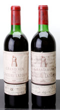 Red Bordeaux, Chateau Latour. Pauillac. 1967 hs, ll, wasl Bottle (1). 1970ts, tsl, hwasl, lcc Bottle (1). ... (Total: 2 Btls. )