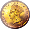 Proof Gold Dollars, 1878 G$1 PR65 Deep Cameo PCGS....