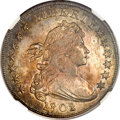 Early Dollars, 1802/1 $1 Wide Date MS62 NGC. B-3, BB-234, R.3....