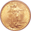 Saint-Gaudens Double Eagles, 1929 $20 MS61 PCGS....