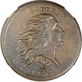 Large Cents, 1793 1C Wreath Cent, Vine and Bars XF45 NGC. S-8, B-13, R.3....
