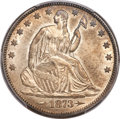 Seated Half Dollars, 1873-CC 50C Arrows MS63 PCGS Secure. WB-103....