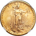 Saint-Gaudens Double Eagles, 1914 $20 MS66 NGC....