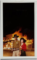 Original Comic Art:Covers, Enric (Enric Torres-Prat) Western Paperback Cover IllustrationOriginal Art (undated)....