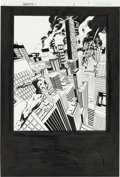 Original Comic Art:Splash Pages, Dwayne Turner and Sal Regla The Authority V2#2 Splash Page 1Original Art (Wildstorm, 2003)....