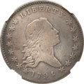 Early Half Dollars, 1794 50C -- Repaired -- NGC Details. VF. O-101a, R.4....