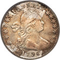 Early Half Dimes, 1796 H10C LIKERTY Fine 15 PCGS. V-1, LM-1, R.3....