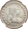 Early Dollars, 1796 $1 Small Date, Small Letters VF35 NGC. B-2, BB-63, R.4....