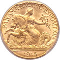 Commemorative Gold, 1915-S $2 1/2 Panama-Pacific Quarter Eagle MS64 PCGS....
