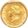 Gold Dollars, 1850-O G$1 MS61 PCGS. Variety 1....