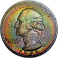 Washington Quarters, 1948 25C MS67+ PCGS Secure. CAC....