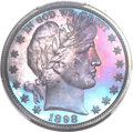 Proof Barber Half Dollars, 1898 50C PR67 PCGS....