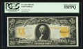 Large Size:Gold Certificates, Fr. 1186 $20 1906 Gold Certificate PCGS Choice About New 55PPQ.. ...