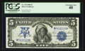Large Size:Silver Certificates, Fr. 278 $5 1899 Silver Certificate PCGS Extremely Fine 40.. ...