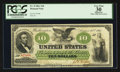 Large Size:Demand Notes, Fr. 8 $10 1861 Demand Note PCGS Apparent Very Fine 30.. ...