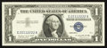 Error Notes:Shifted Third Printing, Fancy Serial Number Fr. 1620 $1 1957A Silver Certificate. Gem Crisp Uncirculated.. ...