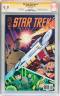 Modern Age (1980-Present):Science Fiction, Star Trek: Year Four #1 Signed by Leonard Nimoy (IDW Publishing,2007) CGC Signature Series MT 9.9 White pages....