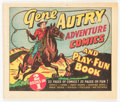 Golden Age (1938-1955):Western, Gene Autry Adventure Comics and Play-Fun Book #nn (Dell, 1947)Condition: VF/NM....