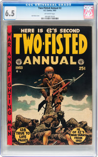 Two-Fisted Annual #2 (EC, 1953) CGC FN+ 6.5 Off-white pages