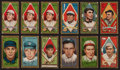 Baseball Cards:Lots, 1911 T205 Gold Border Collection (57). ...